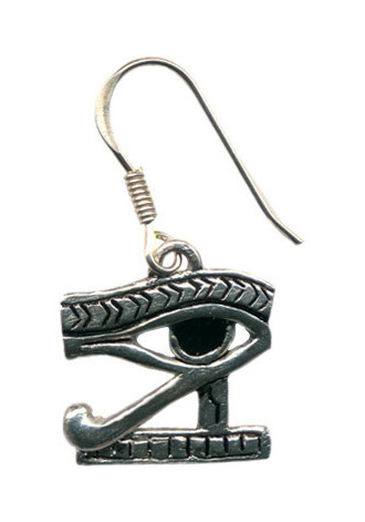 Eye of Horus earrings,pair