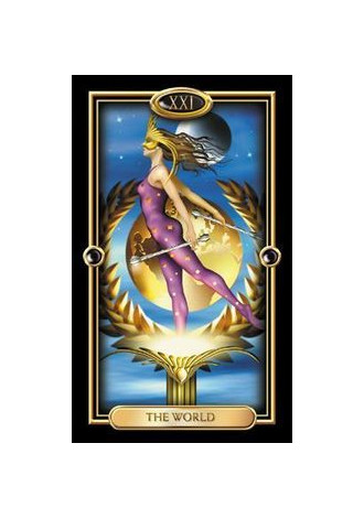 Gilded tarot deck *out of Print