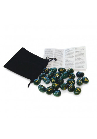 Rune set, bloodstone