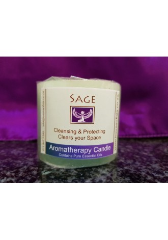 Sage candle, small