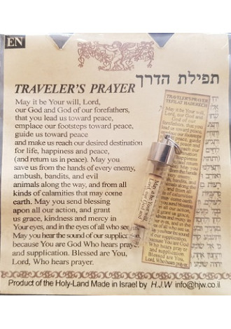 Traveller's Prayer, Charm